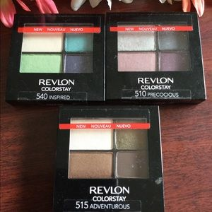 Revlon Colorstay Quad Shadows